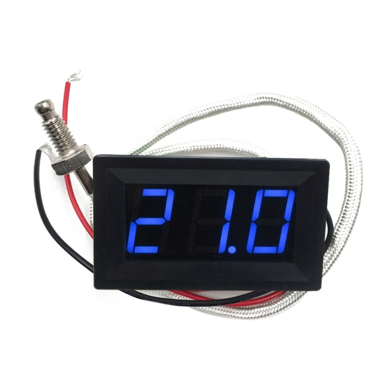 K Type Thermocouple Temperature Display Digital Industrial Thermometer Temperature Measurement Table DC12V цена и фото