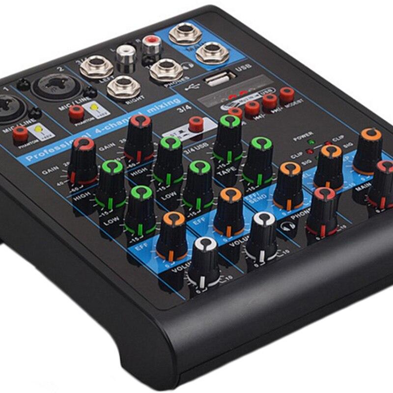 プラグプロ Usb Bluetooth ミキサーリバーブ効果ホームカラオケ 6