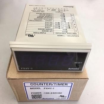 FX4Y-I FX6Y-I 100-240VAC 100 nowy oryginalny oryginalny wielofunkcyjny zegar licznik tanie i dobre opinie FX4Y-1 FX4Y-I FX6Y-I