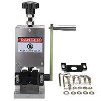 1 Bộ Manual Wire Cáp crimping máy và bong tróc Machine Đối Với kim loại Dây Tái Chế Dây Cáp Stripper Tước
