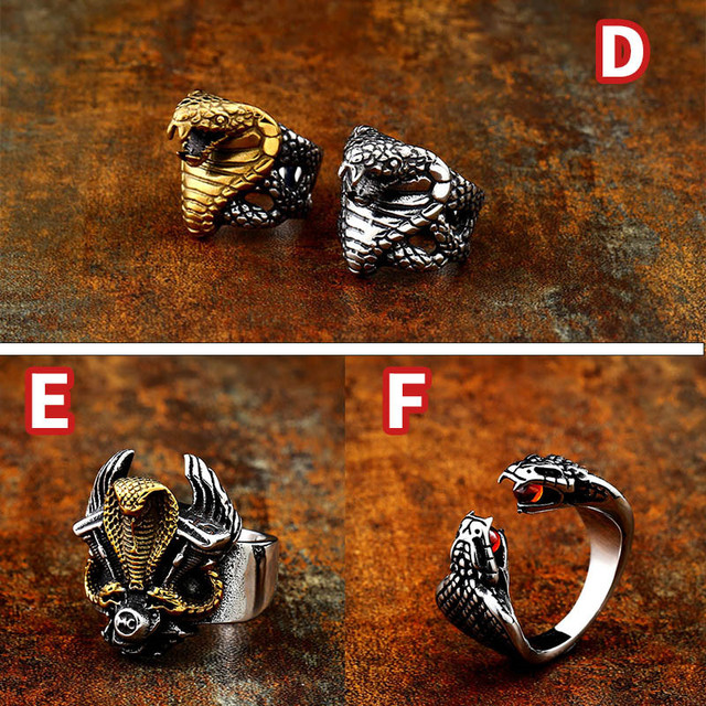 Beier 316L Stainless steel Norse Viking scandinavian Odin 's Symbol Snack Runes Amulet Elder Futhark Ring for men jewelry LR575 4