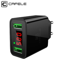 Cafele Dual USB Mobile Phone Charger for Samsung Universal P
