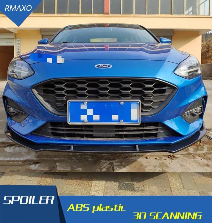 For Ford Focus Body kit spoiler 2019 For Ford Focus ABS Rear lip rear spoiler front