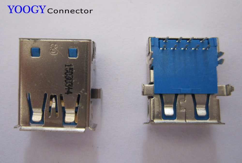 USB3.0 гнездовой разъем подходит для Acer Aspire ZC-606 и Asus N73JF N73JQ N73JG серийная материнская плата для ноутбука usb 3,0 гнездо отдельно Кол-во