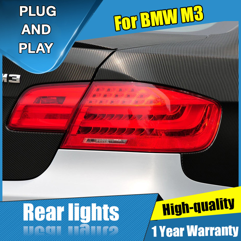 LED Tail Lamp Assembly Car Styling For BMW M3 Taillights 2008 2013 for E92 E93 330