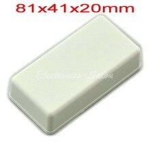 Небольшой настольный Пластиковый Корпус Корпус, Белый, 81x41x20 мм, ВЫСОКОЕ КАЧЕСТВО.