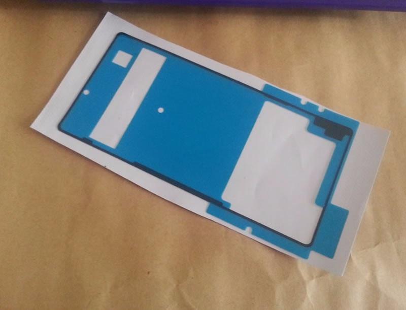 Original nouveau couvercle de batterie arrière colle adhésive + autocollant avant pour écran LCD pour Sony Xperia Z3 + Z4 colle autocollant étanche