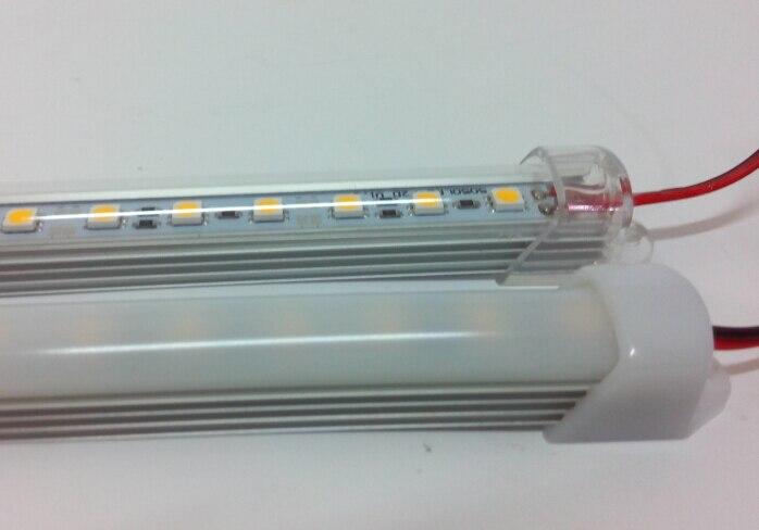 DC 12V 0.5m 5050 SMD <font><b>LED</b></font> Rigid Strip Lights Bar 36leds Hard Article Lamp smd5050 Non-waterproof Strips Lights <font><b>WW</b></font>/CW 12 Volts CE