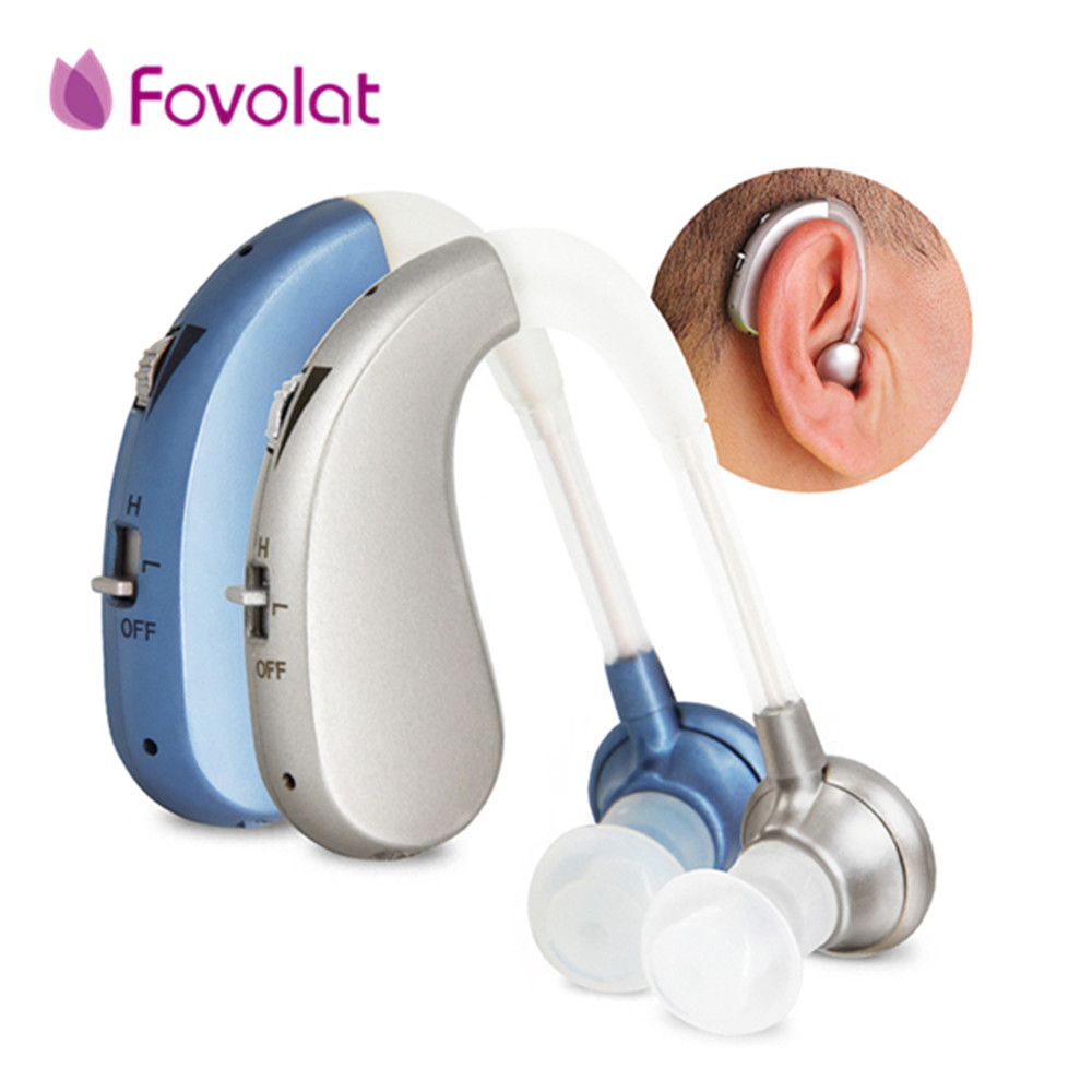 Portable Mini Digital Rechargeable Hearing Aid for the elderly Wireless Portable Sound Amplifiers Long Time Use Drop Shipping