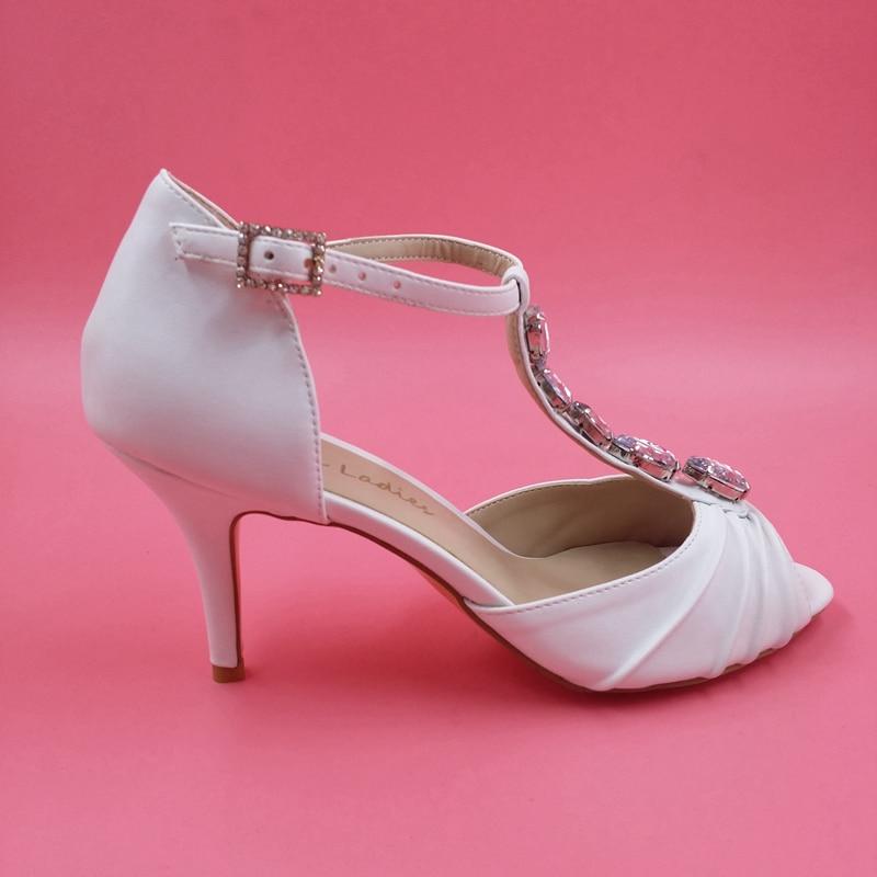 order Sandale Mariée Ivoire Ouvert Made Mariage to Dames Strass Chaussures Femmes De 2015 Talons T Élégant bretelles Sandales Orteil vqUSAwYxU