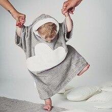 Bébé garçon fille Hoodies enfant nuages vêtements polaire velours de nuit vêtements pour bébés Automne hiver bébé Peignoirs pyjamas Homewear