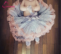 new free shipping ruffle fluffy chiffon baby girls pettiskirt children princess tutu skirt