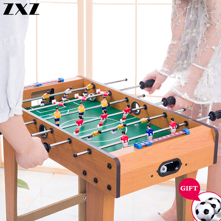 Football Table Games Foosball Table Soccer Tables Party Board Mini Balle Baby Foot Ball Desk Interaction Game Kid Player Gift T4-0