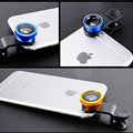 3 in 1  for iPhone lens fish eye Wide Angle Macro mobile camera Phone lenses with Universal Clip Xiaomi wholesale