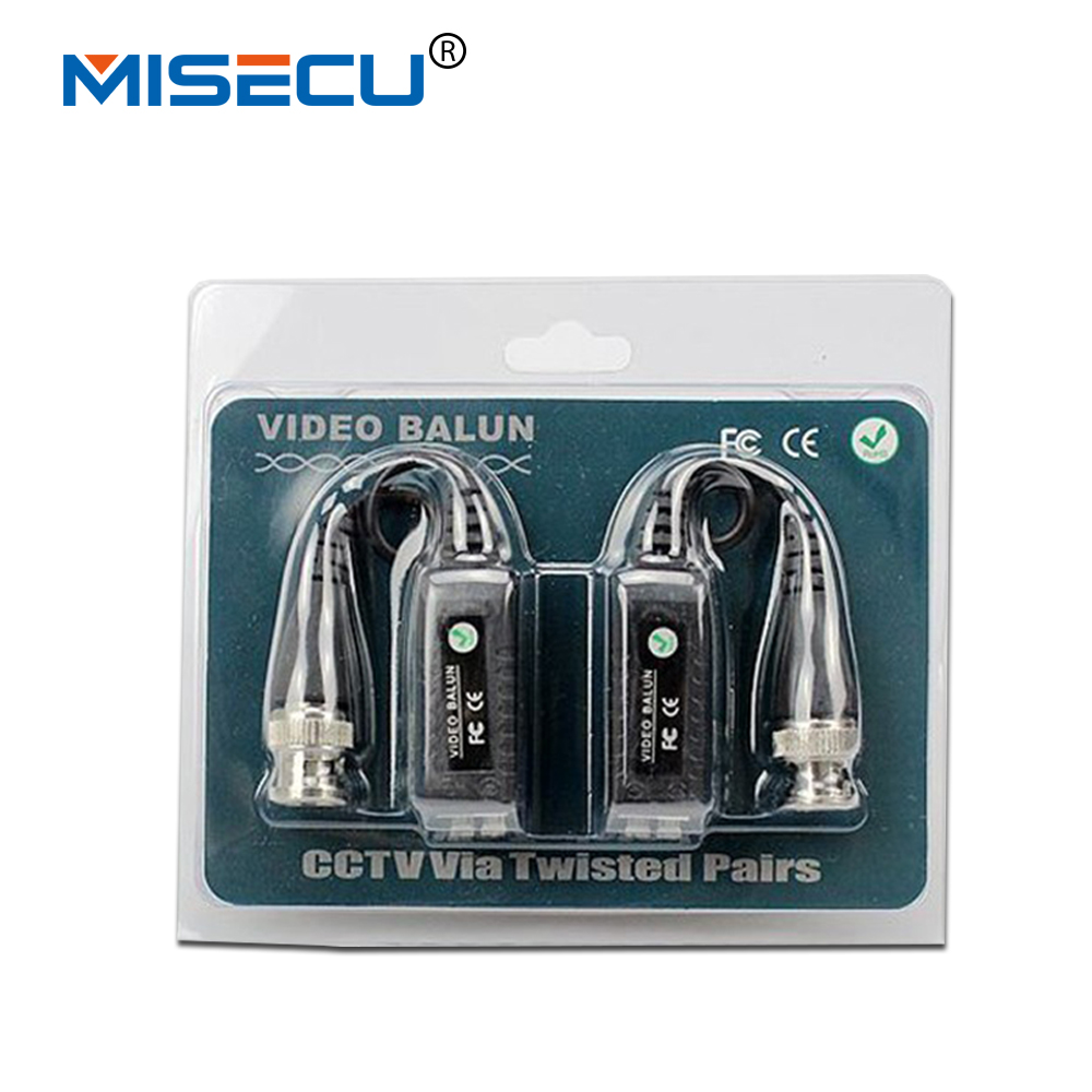 Video Balun BNC connector CCTV Via twisted pairs UTP Transceiver CAT5 cctv cable 60pairs/lot up to 300m DHL EMS free shipping dhl ems free shipping new ati radeon 9550 256mb ddr2 agp 4x 8x video card from factory 50pcs lot