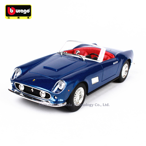 Bburago 1:24 Ferrari 250B collection manufacturer authorized simulation alloy car model crafts decoration collection toy tools