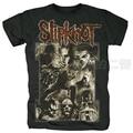 Rock t-shirt 2014 slipknot sepia live heavy metal t-shirt rap tshirt tee