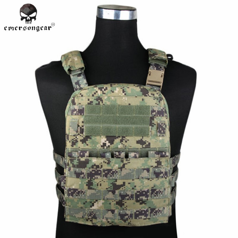 Emerson CP Style Lightweight AVS VEST Nylon Molle Hunting Fabric Adaptive Vest Plate Carrier Airsoft Combat Gear EM7398 AOR2 free shipping 5pcs 4mm hrc60 d4 11 d4 50 four flutes roughing end mill spiral bit milling tools cnc endmills router bits
