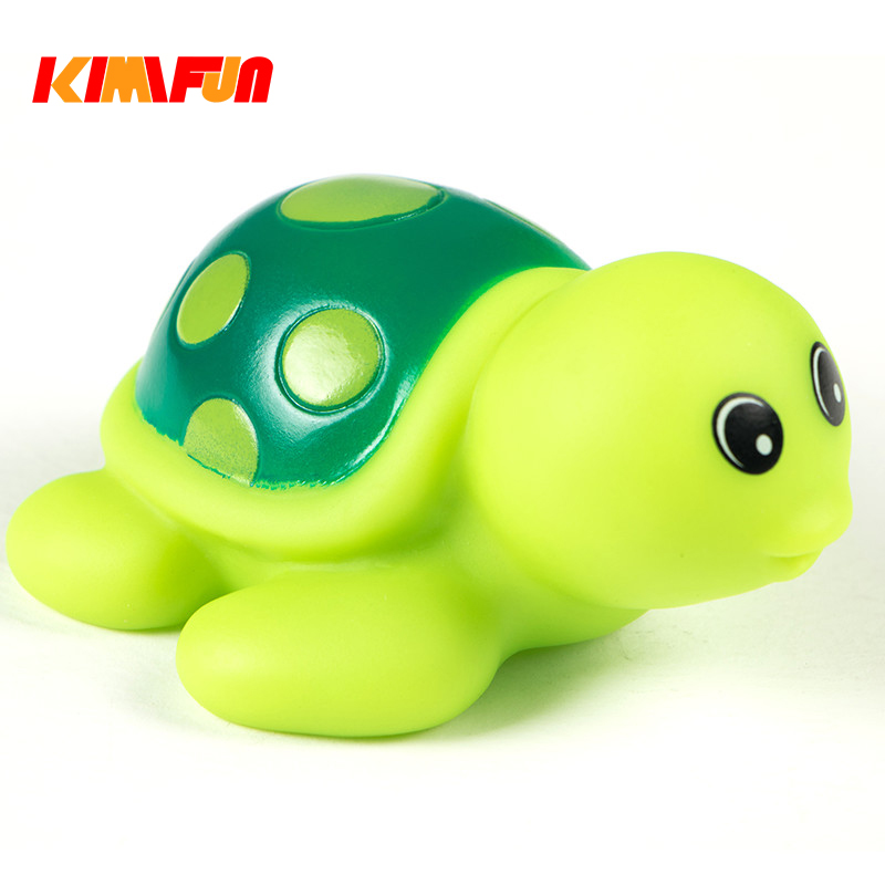 Animals Water Colorful Rubber Float Bathing Toy Kids bebe turtles swimming pool toy