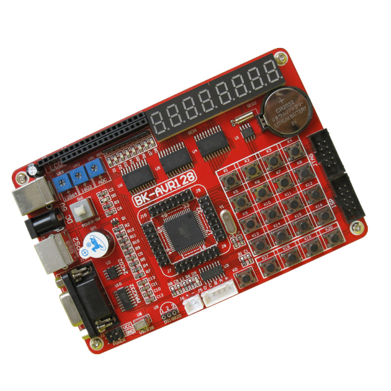 Specials AVR development board super cost-effective ATMEGA128 learning board experiment board nrf52832 high cost development board gold core board