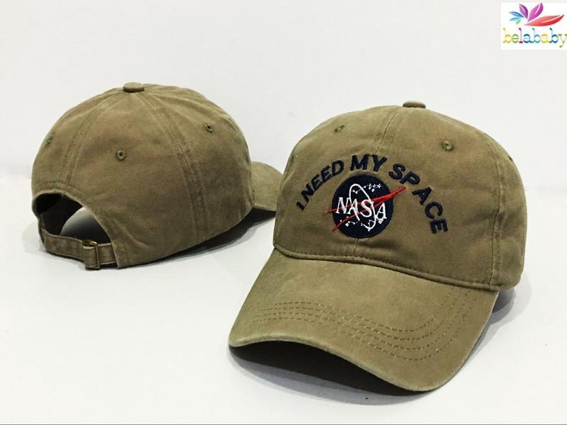 belababy 2016 hats nasa i need my space baseball caps