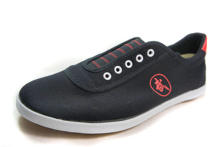 Высокое качество тай-чи Обувь ребенка в школу белые спортивные Обувь Боевые искусства Для мужчин Для женщин Тайцзи Wu Шу обуви кунг-фу 5 видов цветов - Цвет: BLACK 2