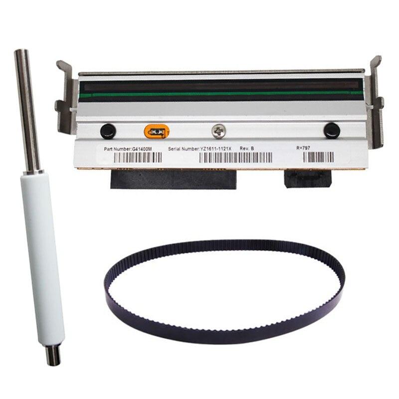 G41400M Print head+Roller+ Belt For Zebra S4M 203dpi Thermal Label Printer Printer Spare Parts brand print head for zebra zp450 zp 450 label printer