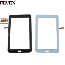 цена на RLGVQDX New For Samsung T110 not 3G and WIFI Touch Screen Digitizer Sensor Glass Panel Tablet PC Black White