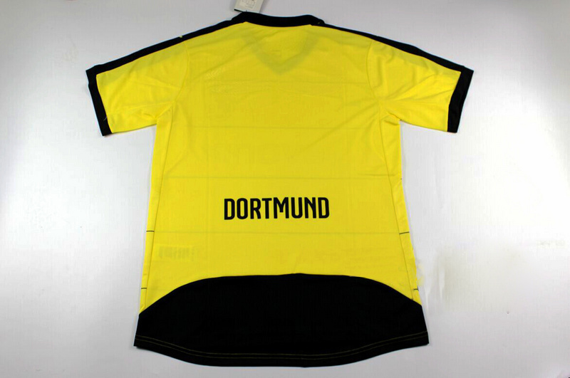 ... 2016 Borussia Dortmund Home REUS Soccer Jersey 15 16 BVB Dortmund Camisa  Away Black White GUNDOGAN ce990ea1bf740