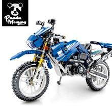 Technic Building Block Motorcycle Model Vehicle Bricks Sets Toys Gifts Boy недорого