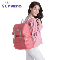 Sunveno Baby Bag Diaper Bag Backpack Baby Care Backpack Maternity Stroller Bag Bolsa Maternidade Mochila