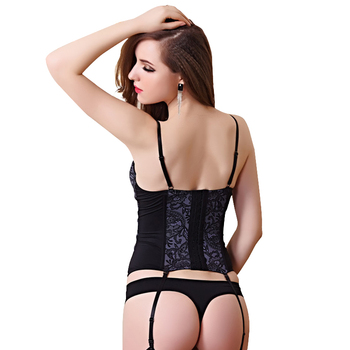 Corset Push Up Bustier  2