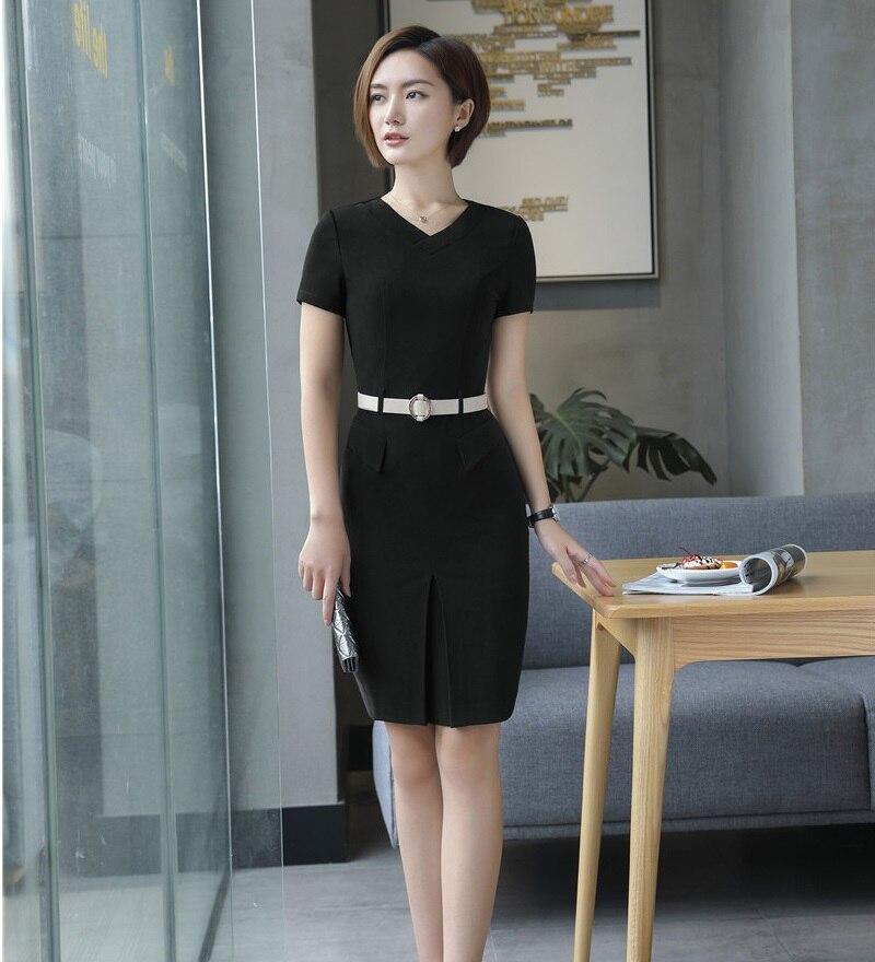 Formal Womens Business Suits Office Uniform Designs Women Dress