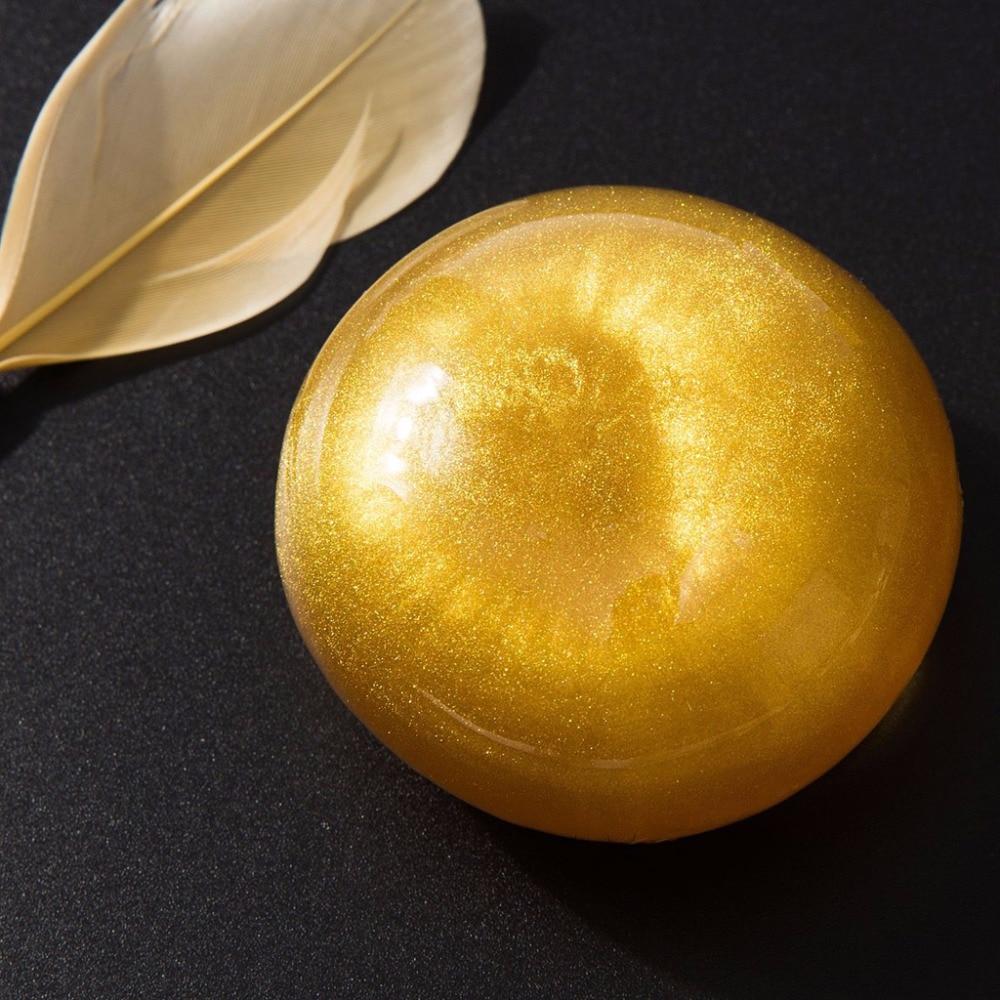 80g Amino Acid Nano Gold Handmade Soap Deep Cleansing Skin Facial Moisturizing