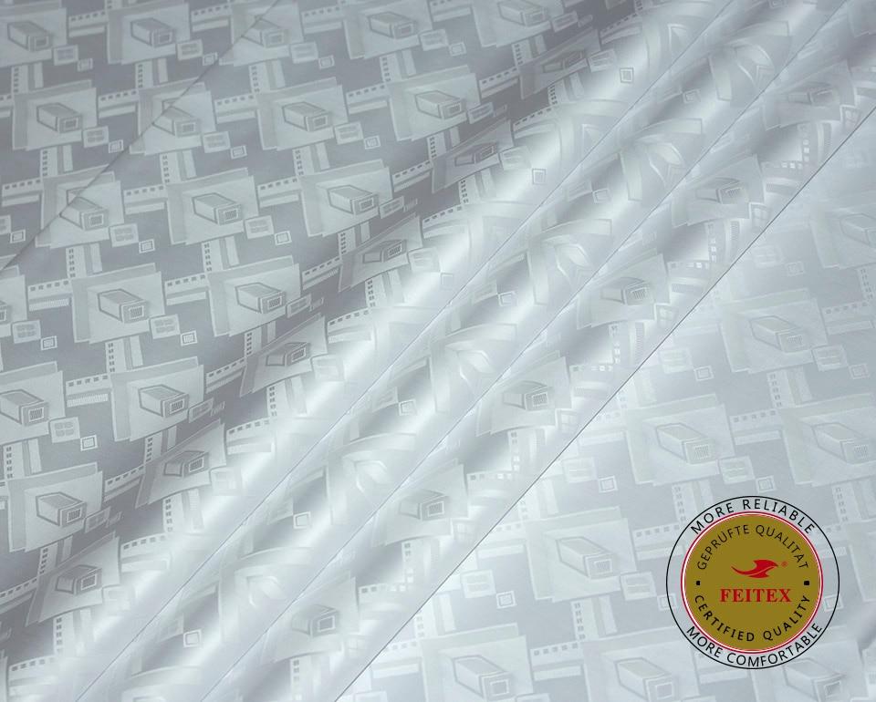 Getzner сапасына ұқсас Bazin Riche Fabric White Colour - Өнер, қолөнер және тігін - фото 4