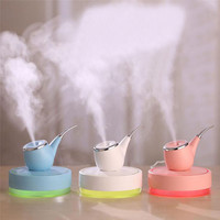 New Creative Product Lamp Humidifier Cigarette Pipe LED Humidifier Air Diffuser Purifier Atomizer For Moisturizing Your