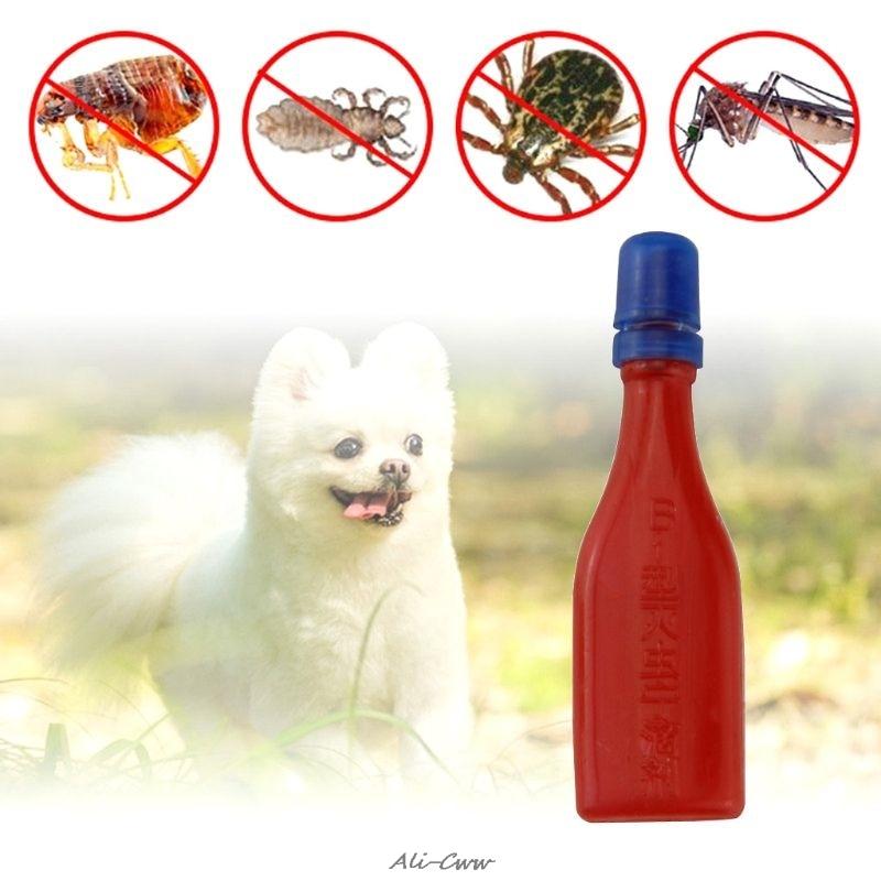 font b Pet b font Insecticide Flea Lice Insect Killer Spray Mites Ticks Drops For