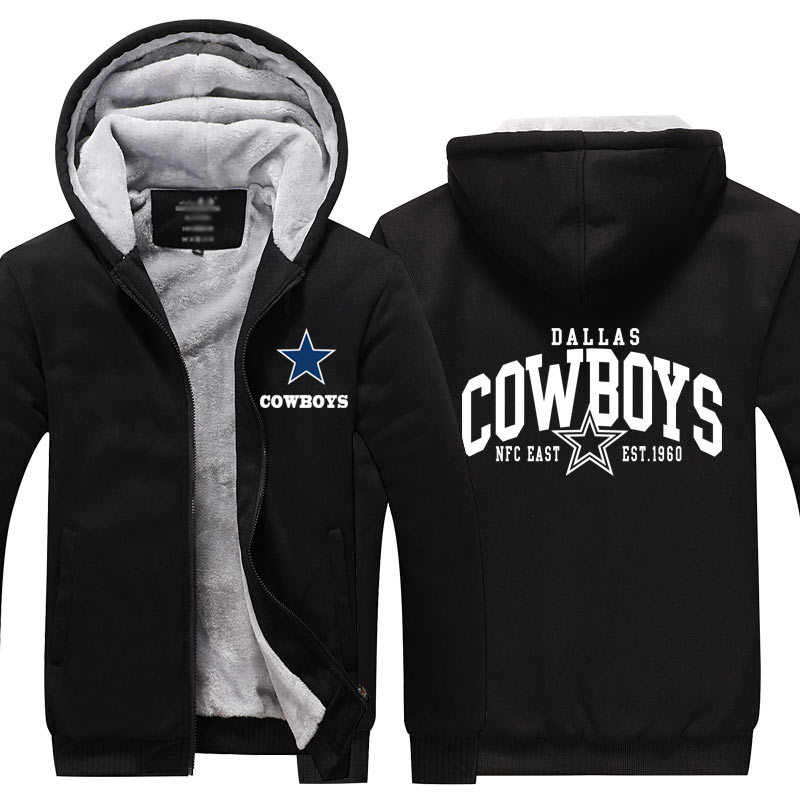 new style 5af3d 82843 Dropshipping Mens Thicken Hoodie Dallas Cowboys Fan Warm ...
