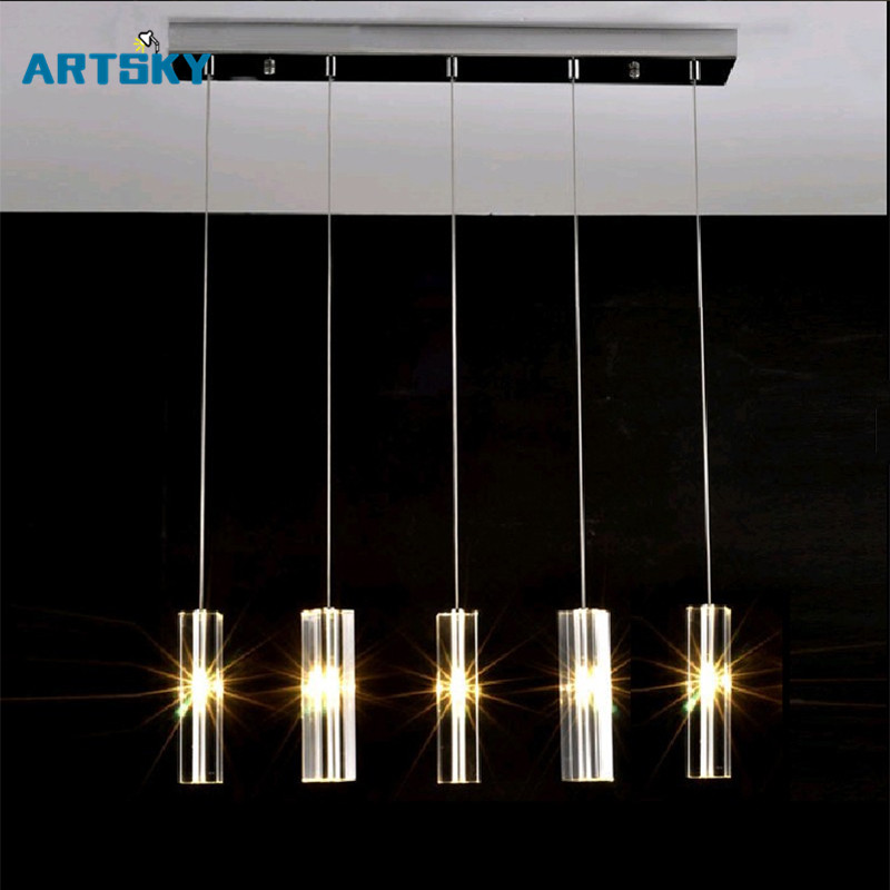 Hanging Dining Room lamp LED Pendant Lights Modern Kitchen Lamps Dining Table Lighting for Home Pendant Light a1 master bedroom living room lamp crystal pendant lights dining room lamp european style dual use fashion pendant lamps
