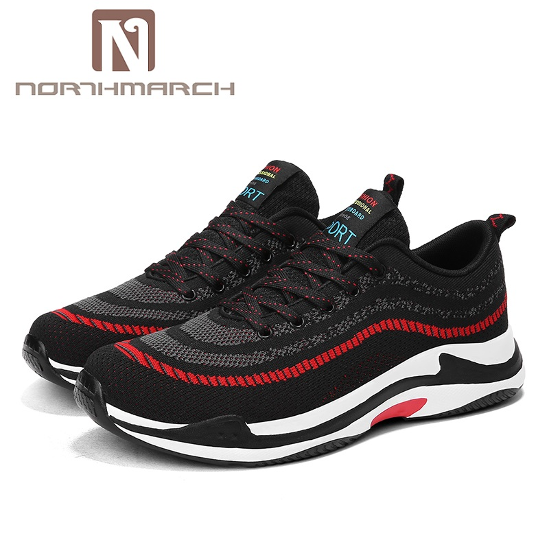 NORTHMARCH Hot Sale Men Casual Shoes Lace Up Sneakers Men Fashion Brand Spring Summer Mesh Shoes Flats Breathable Shoes For Man mvp boy brand 2018 new summer mesh air mesh men breathable loafers black shoes spring lightweight fashion men casual shoes