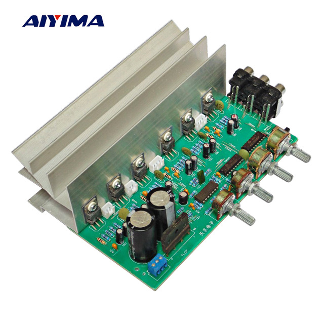 Cheap Aiyima LM1875 5 1 Channel Audio Amplifier Board