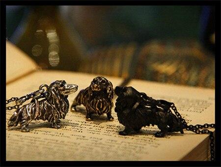 Оптовая продажа ожерелье в стиле ретро хиппи такса модная Милая