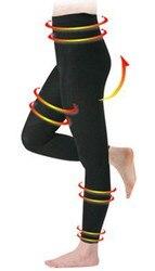 Femme Shaper pantalon contrôle culotte Shapewear minceur jambe forme jambes élancées bout à bout pantalon pantalon Leggings