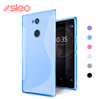SLEO Case For Sony Xperia XA2 Ultra Case Soft Silicon Transparent TPU Cover For Sony Xperia L2 Case For Sony XA2 Case