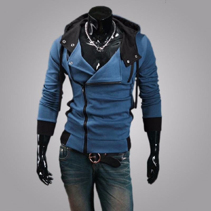 New Fashion Casual Men Hoodies Sweatshirt Male Tracksuit Hooded Jacket Casual Sports Male Hooded Jackets Moleton Assassins Creed5