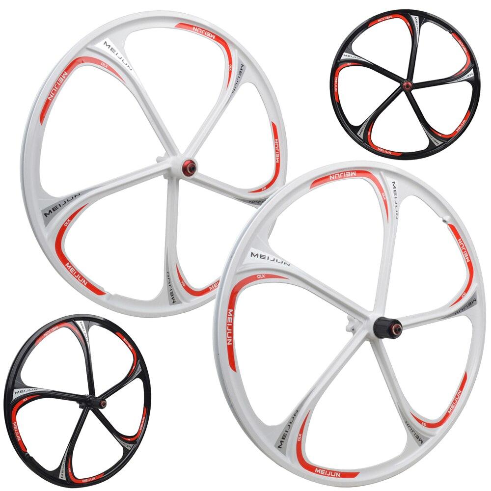 Vtt VTT moyeu de roulement six trous roue disque magnésium en alliage d'aluminium roues jante