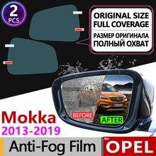 Для Opel Mokka полное покрытие противотуманная пленка заднего вида аксессуары для зеркал наклейки Опель МОККА X 2013