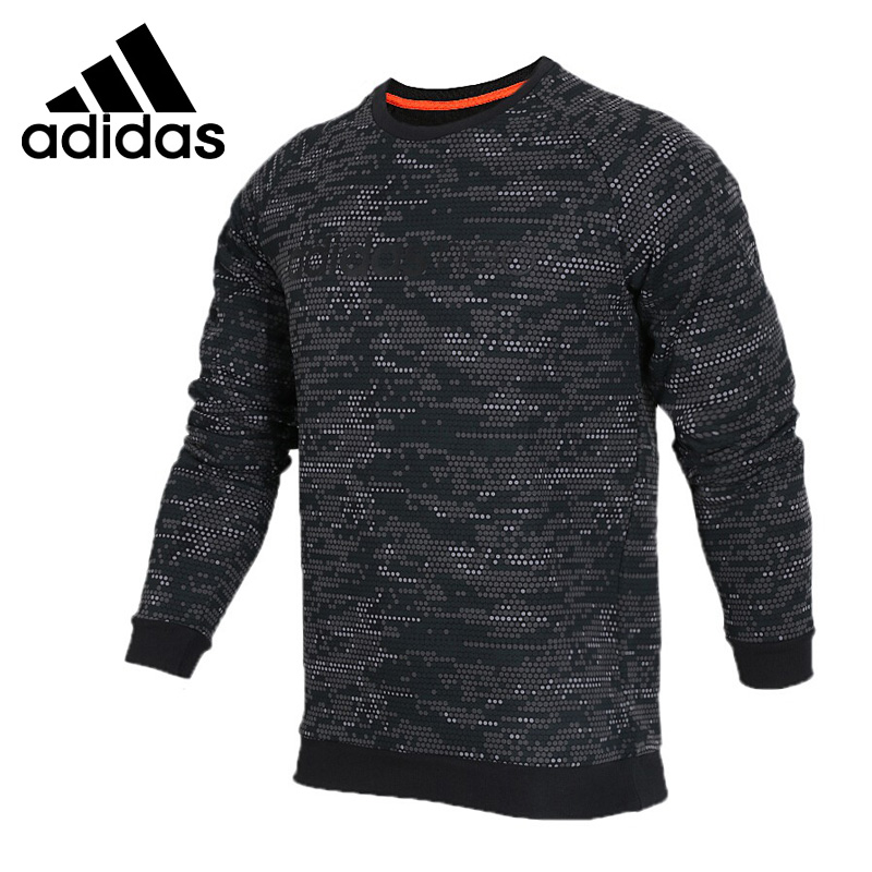 Original New Arrival 2018 Adidas NEO Label M FAV SWEATSHRT Men's Pullover Jerseys Sportswear original new arrival 2018 adidas neo label fav tshirt men s t shirts short sleeve sportswear