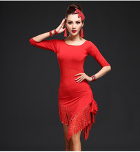 Tassel Bag Hip Dance Skirt Latin Dance Costumes Cultivate One's Morality Dress Female Adult