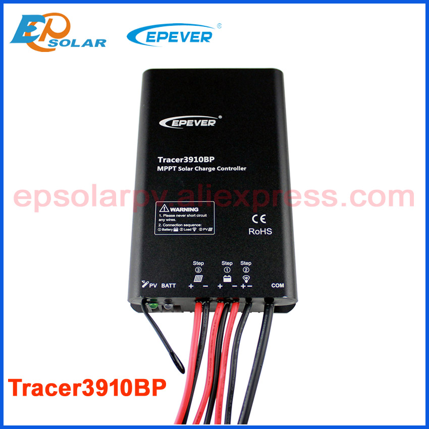 EPEVER Solar portable controller Tracer3910BP 15A 15amps apply to solar street light,solar garden lamp,12V 24V auto work charger solar controller 12v24v5a power controller street lights solar charger d